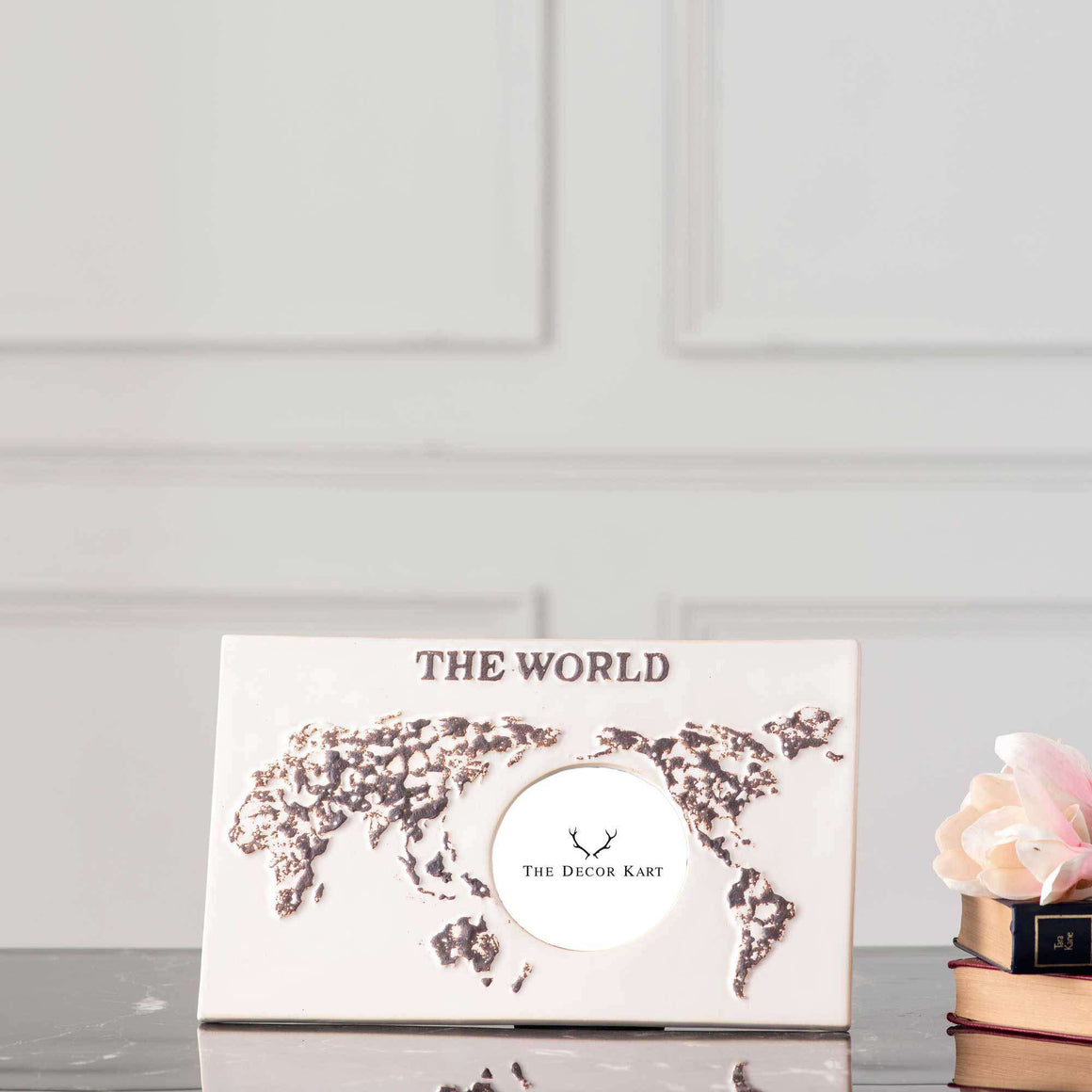 The World Ceramic Photo Frame