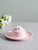 Floral Trinket Dish with Storage - Pink