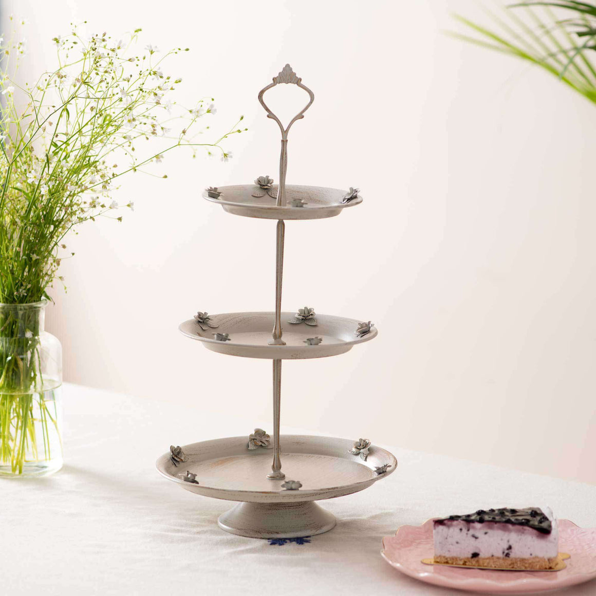 'Flora' 3-Tier Cake Stand