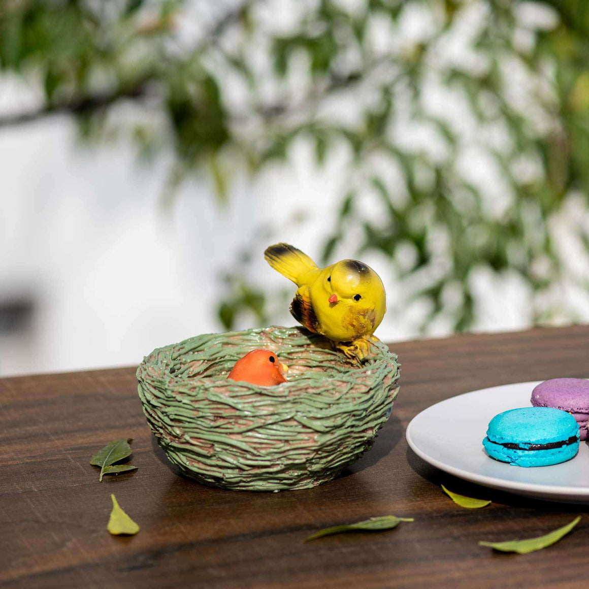 Birds in a Nest - Tabletop Accessory