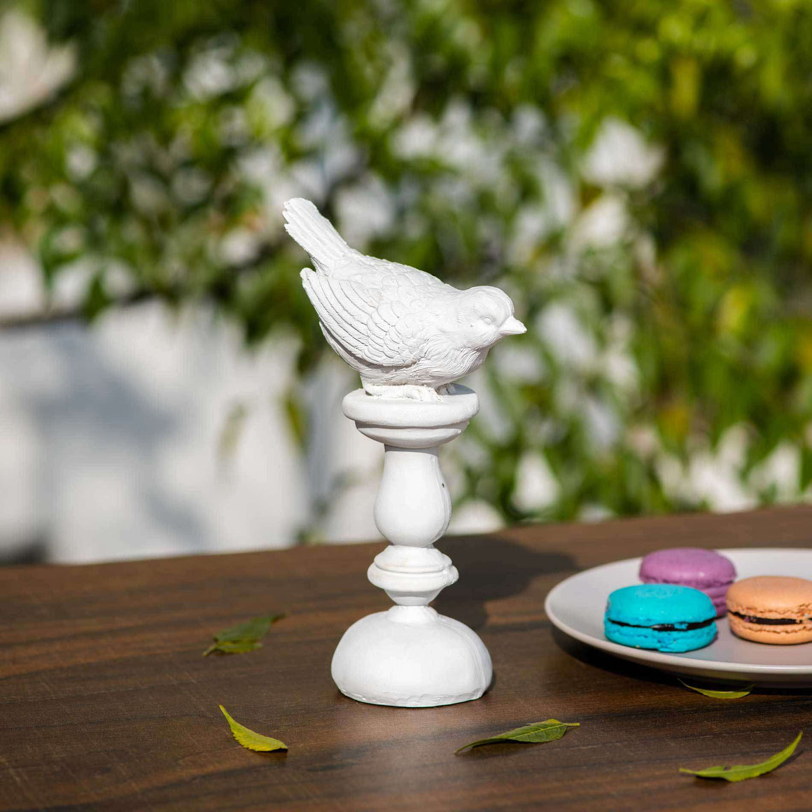 Bird on Pedestal Figurine