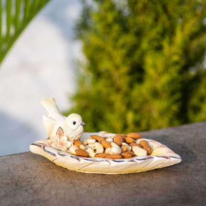 Bird on Leaf Mini Platter