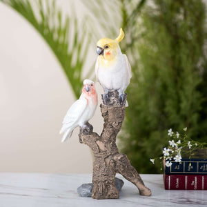 Tropical Birds Tabletop Accent