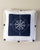 Nautical Compass Cushion - Blue