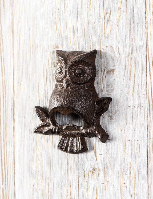 Owl Wall Bottle Opener Thedecorkart