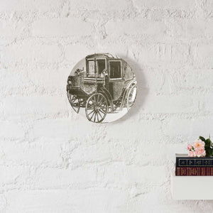 Old Country Sepia - Ceramic Wall Plate