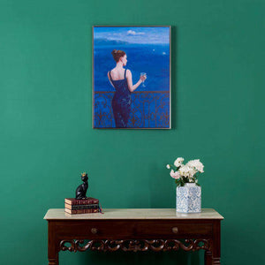 Conversation - Framed Prints on Canvas -