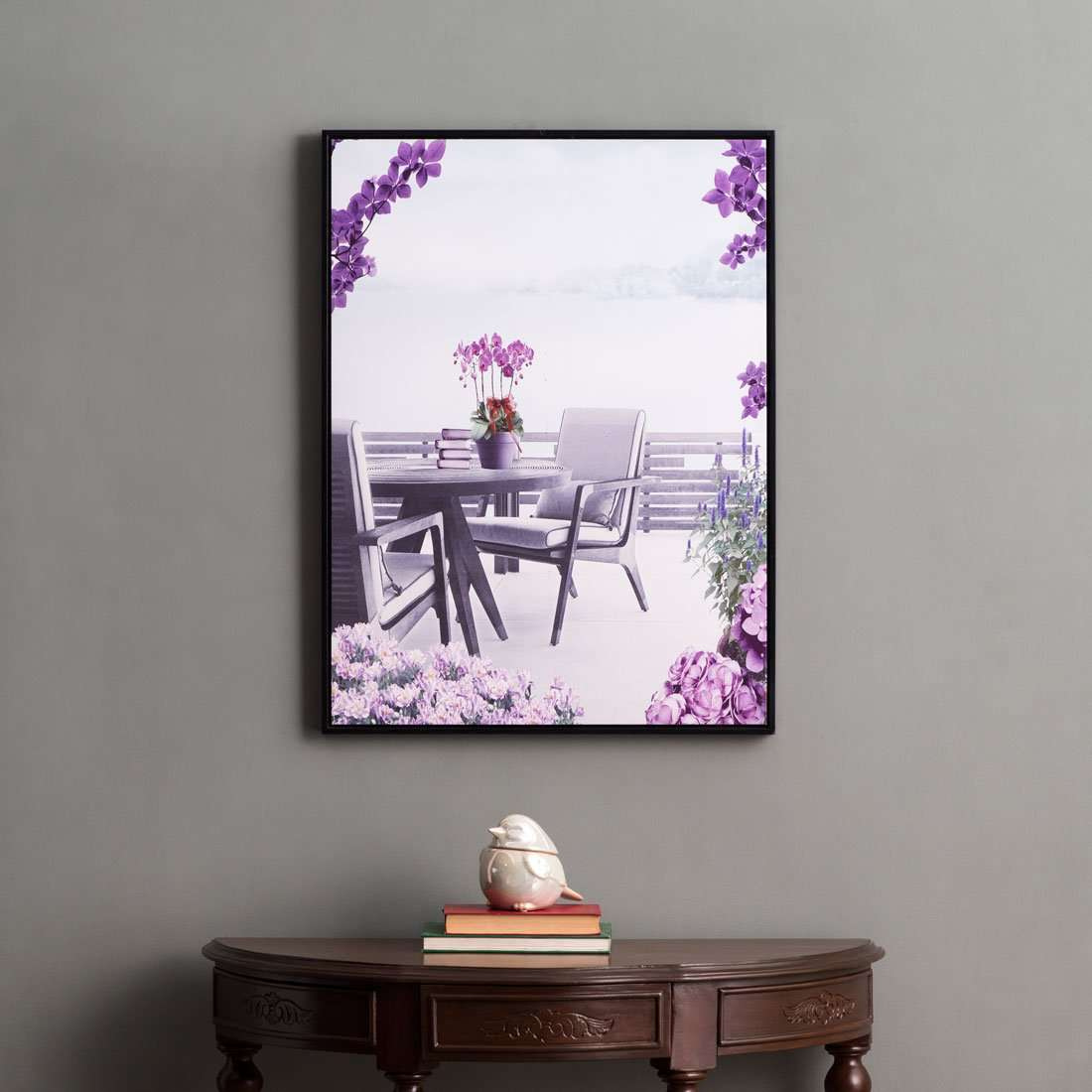 Tea in Sicily - Framed Prints on Canvas