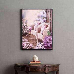 High Tea - Framed Prints on Canvas