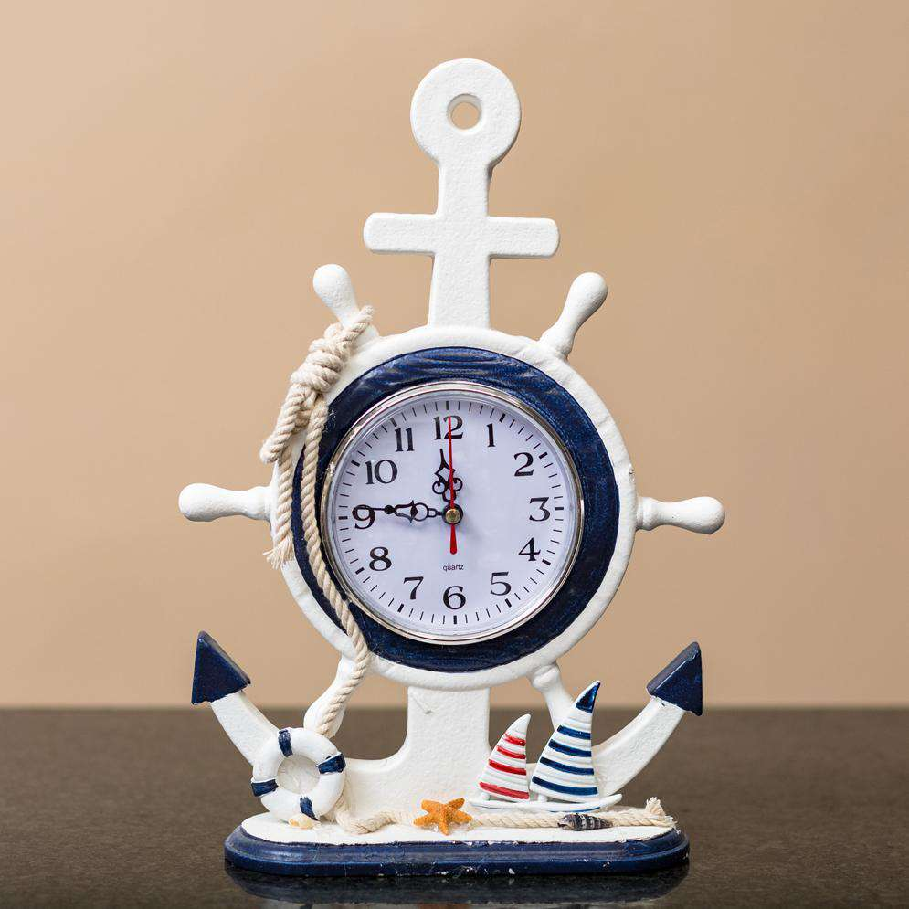 The Anchor - Nautical Mantel Clock