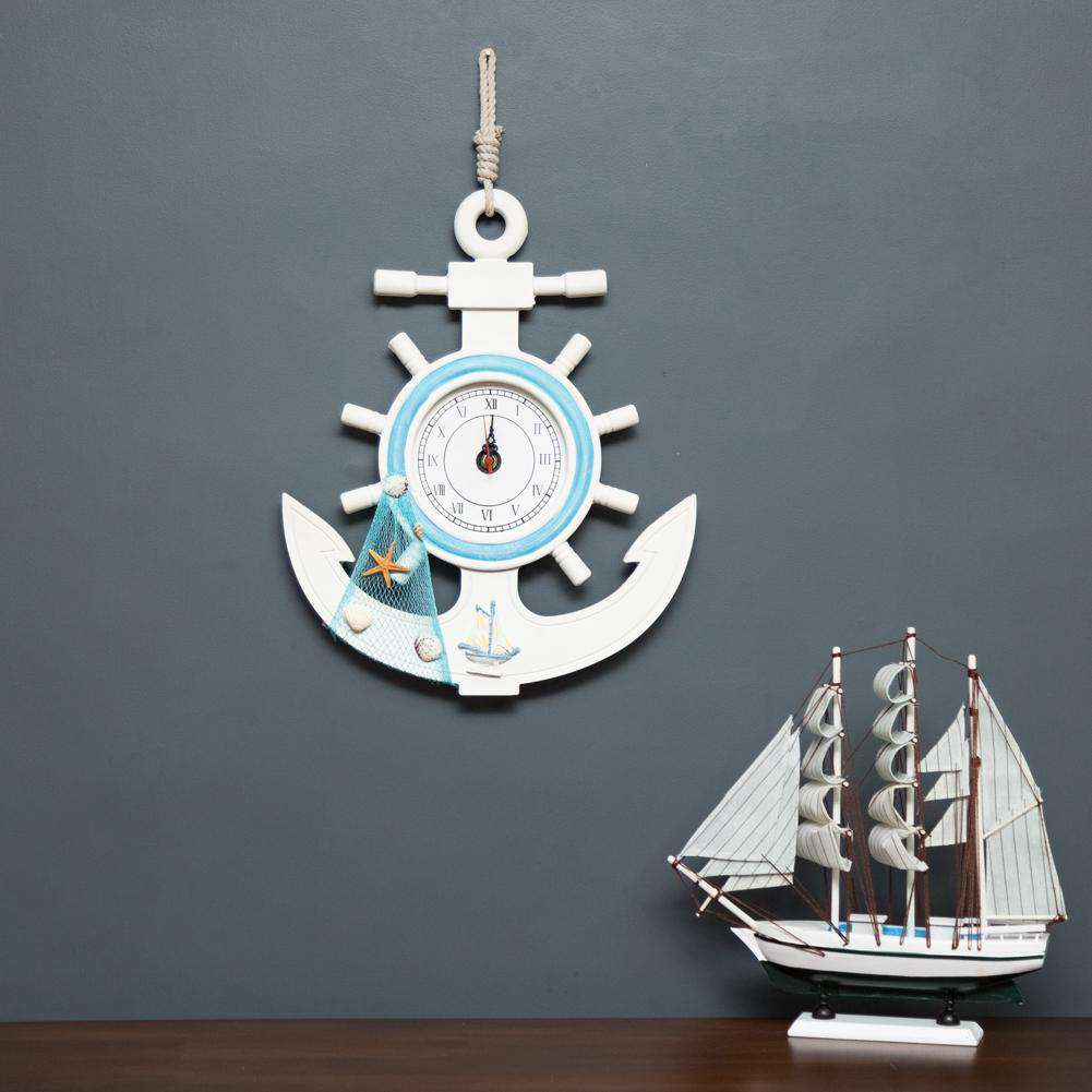 The Anchor - Wall Mounted Clock - Large