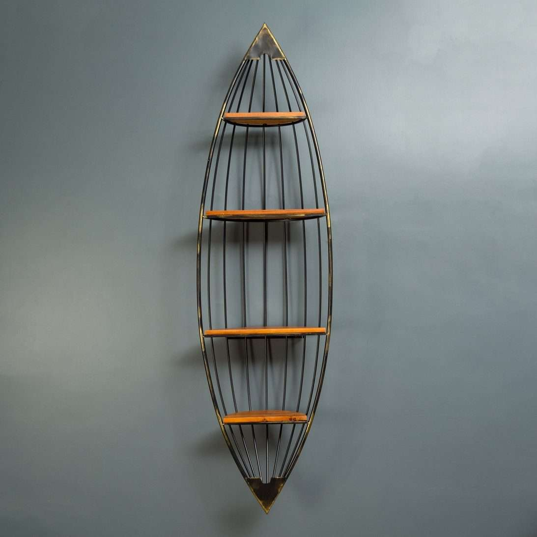 The Boat - 4 Tier Wall Shelf