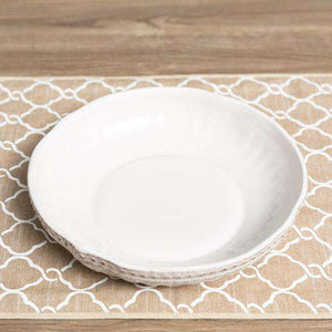 "Ceramic Studio - Pasta Bowl Single 9"" - White"