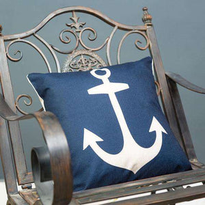 "Anchor Cushion Cover 17"" - Set of 2"