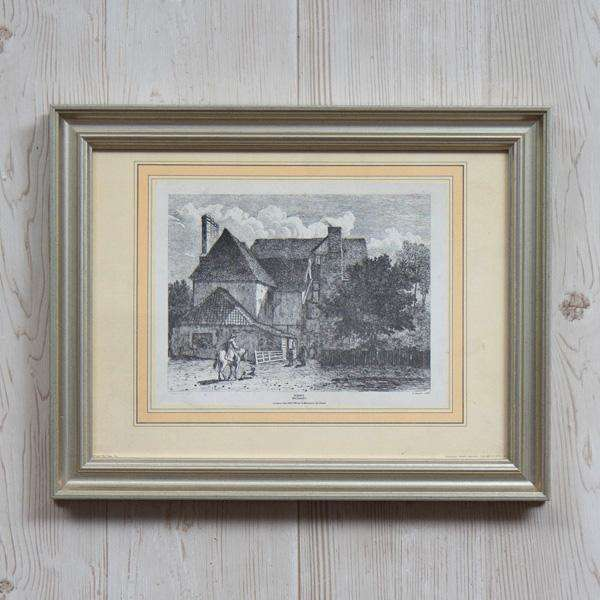 Old English Town Kent Bramley - Framed Art
