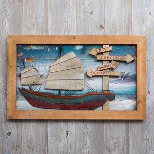 Seafarer - Print on Wood