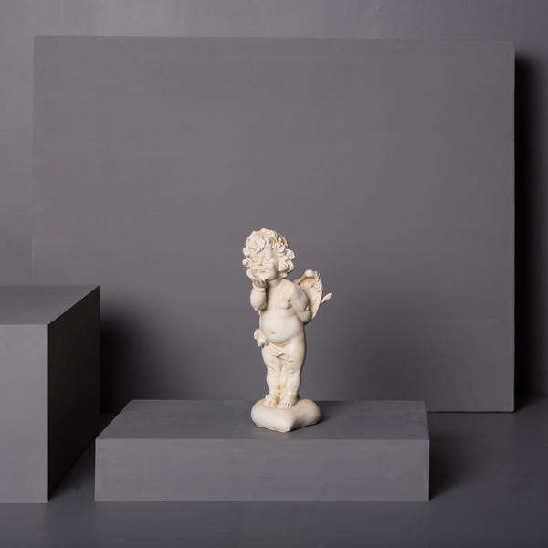 Playful Angel Cherub Figurine