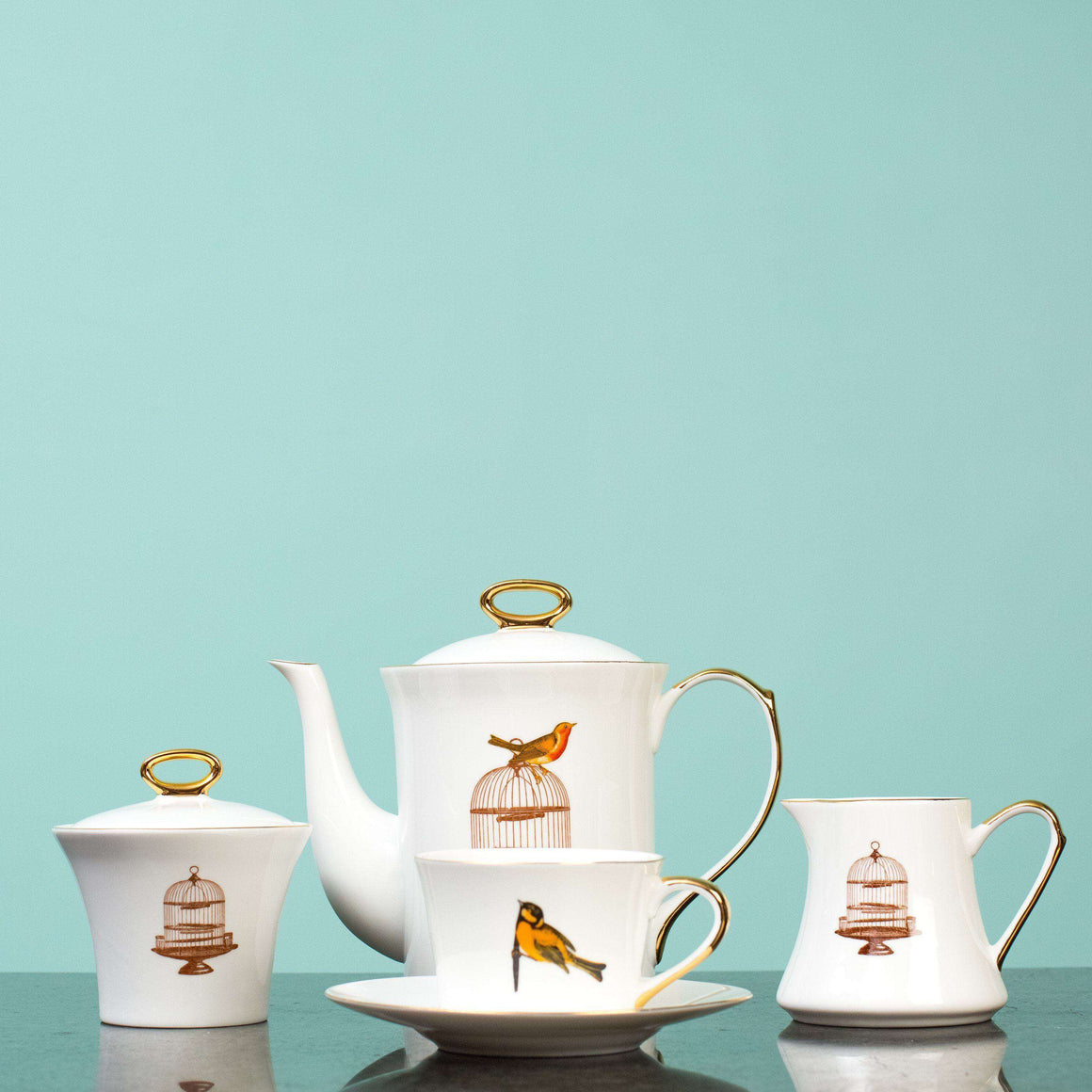 Freedom - 11 Piece Tea Set