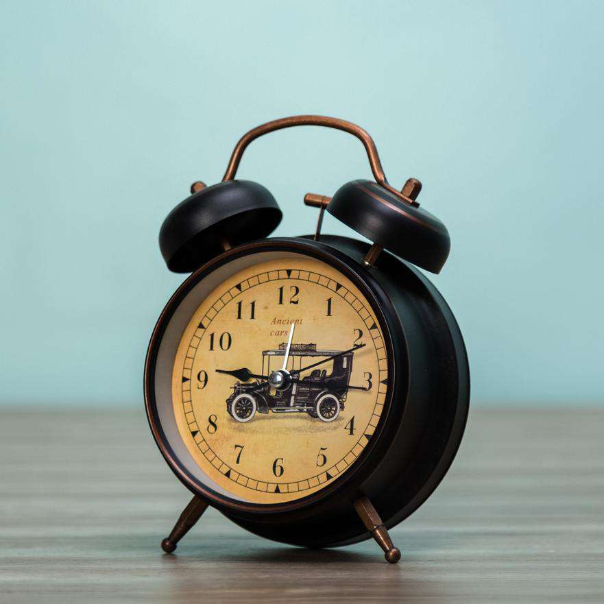The Carriage - Twin Bell Alarm Clock