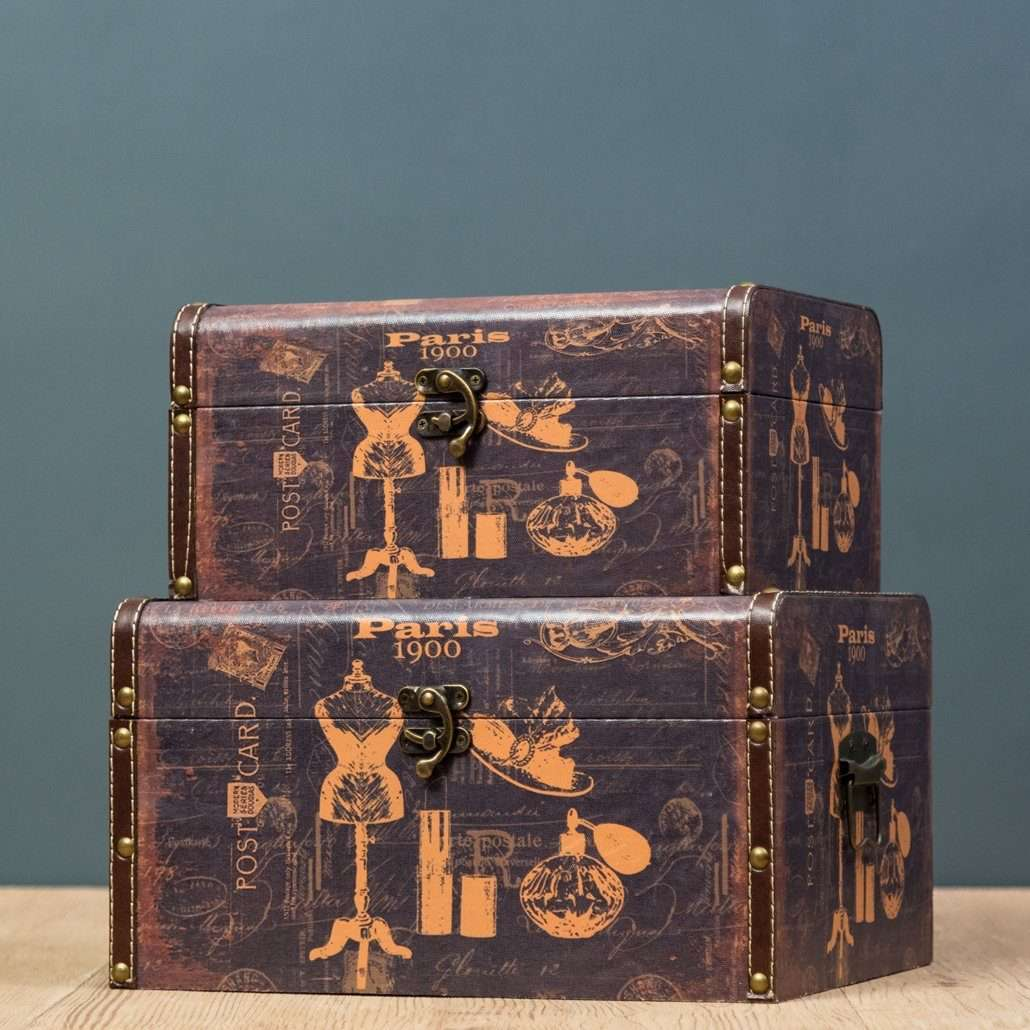 Boutique - Set of 2 Trunk Boxes