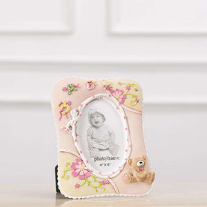 "Adorable Teddy Photo Frame 4""*6"" - Pink"