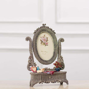 "The Dresser - Grey Photo Frame - 4""*6"""