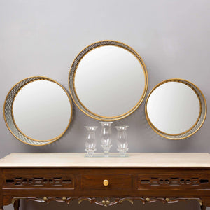 'The Trio' Triangle-Cut Mirrors - Set of 3