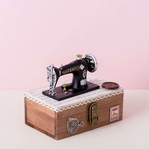 'Sewing Machine' Musical Box Sewing Kit II