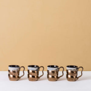 Mettle - 4 Piece Mug Set