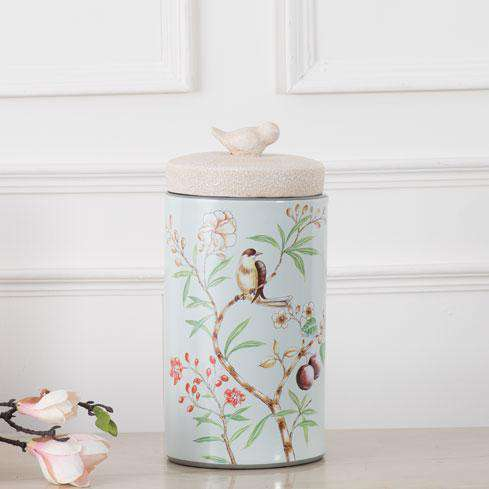 'Morning Bliss' Decorative Lidded Jar - Large