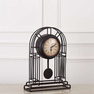 'Archway' Faux Pendulum Table Clock