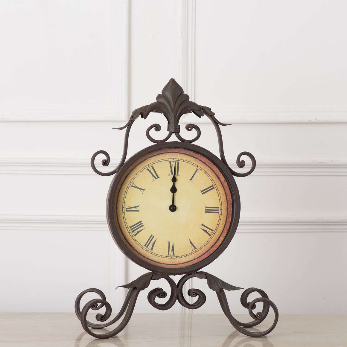 'Versailles' Vintage Mantle/Desk Clock