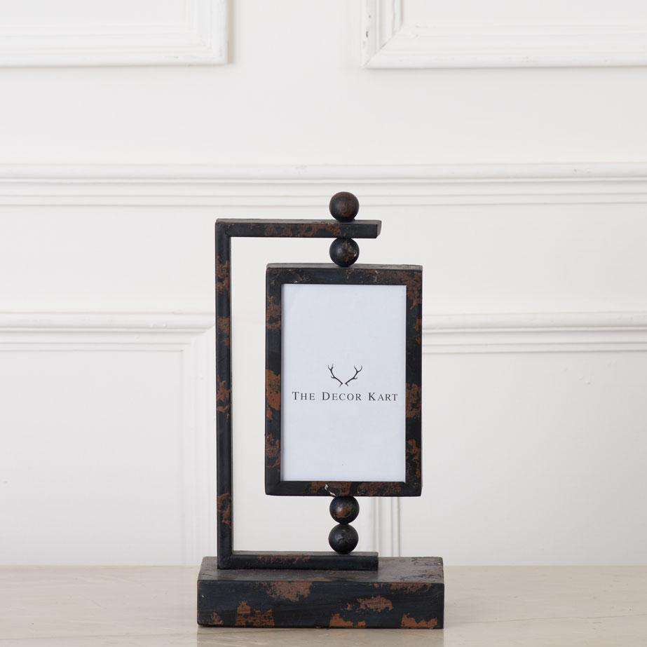 "Dual Tone Tabletop Photo Frame 4"" * 6"""