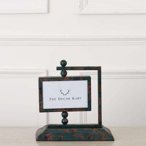 "Dual Tone Tabletop Photo Frame 6"" * 4"""