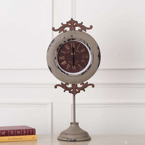 'Constance' Vintage Mantle/Desk Clock