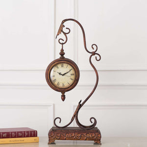 Old World Suspended Table Clock