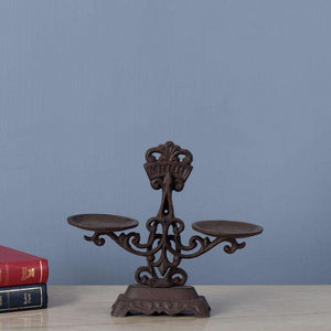 Decorative Cast Iron Weighing Scale