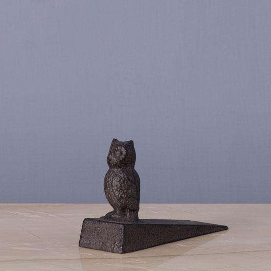 The Owl - Cast Iron Door Stopper
