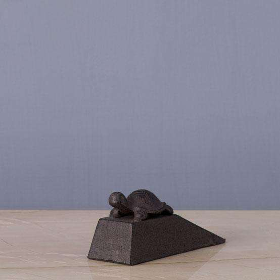 The Tortoise - Cast Iron Wedge Door Stopper