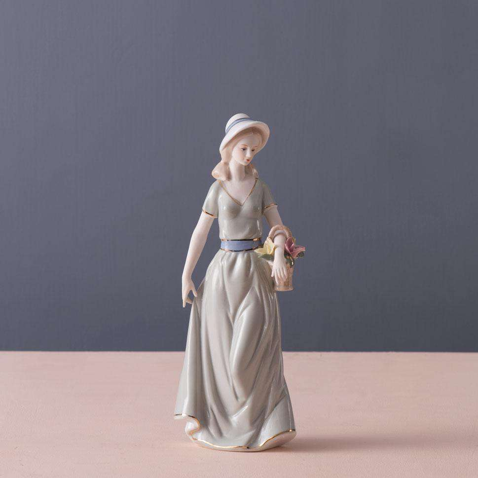 Composed - Fine Porcelain Figurine