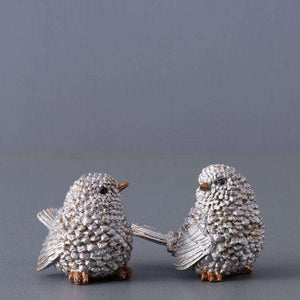 Petite Bird Figurines - Set of 2