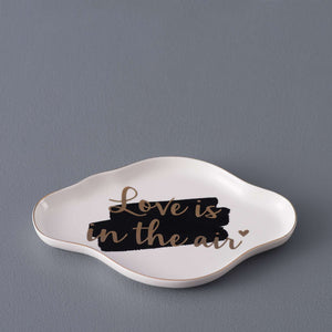 'Love is in the Air' Cloud Shaped Ring Dish
