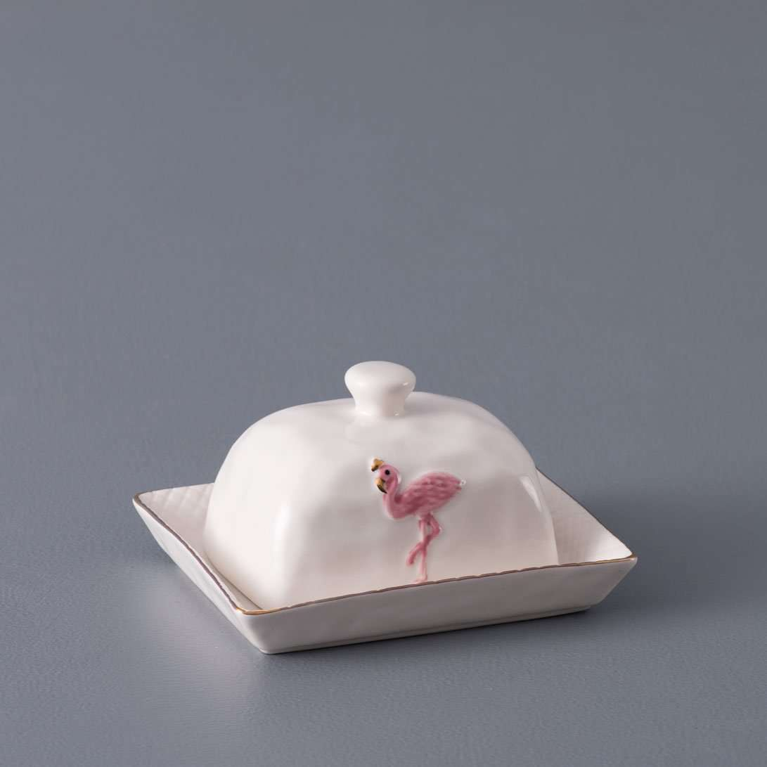 Tropical Butter Dish