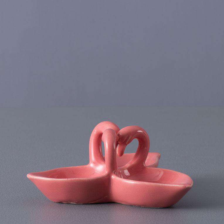 Flamingo Snack Bowl