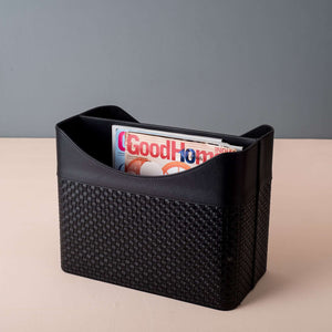 Queensway - Faux Leather Magazine Holder