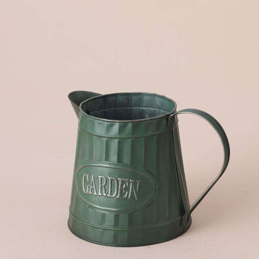 Forest Green Watering Can Planter VI - Large