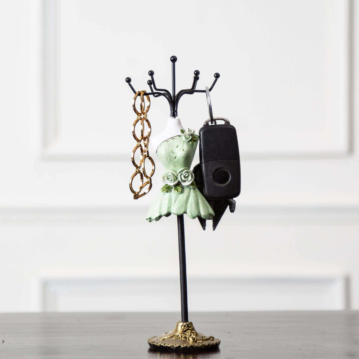 'Dress Up' Tabletop Key Holder