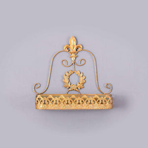 Large Gold Wall Shelf