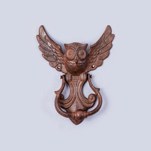 Hedwig - Cast Iron Owl Door Knocker
