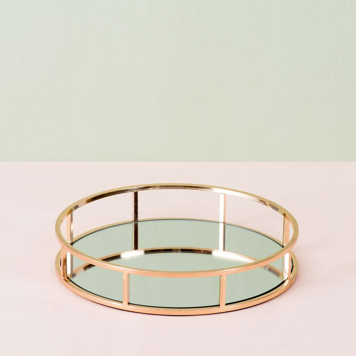 Aurum II - Mirrored Serving Tray